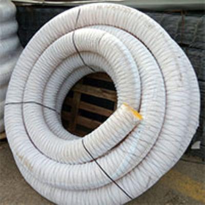 """צינור שרשורי עטוף בד גאוטכני קוטר 100 מ""""מ חב"""