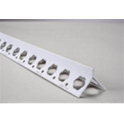 פינה טיח PVC G1000  אורך 3.00 מטר א.גול 15 יח