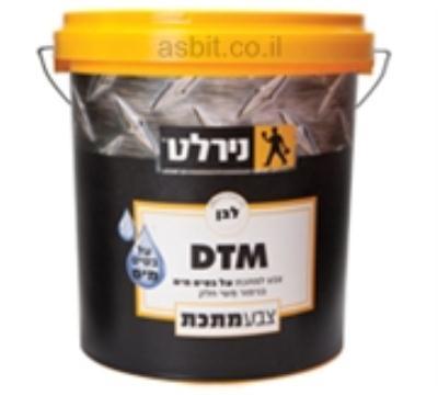 צבע DTM  ב.מים 4.5 ליטר לבן  נירלט