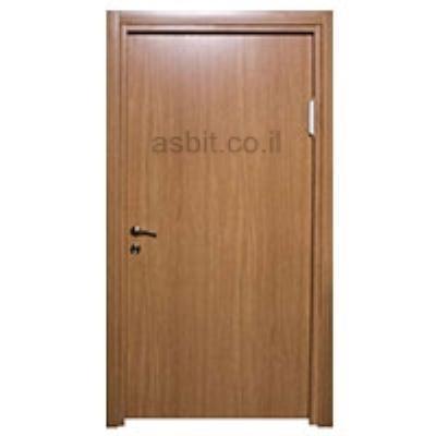 דלת + משקוף 10/12 PVC רוחב  60/70/80/90 גוון אלון