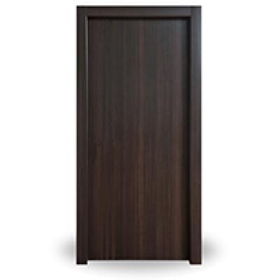 דלת + משקוף 10/12 PVC רוחב  60/70/80/90 גוון ונגה