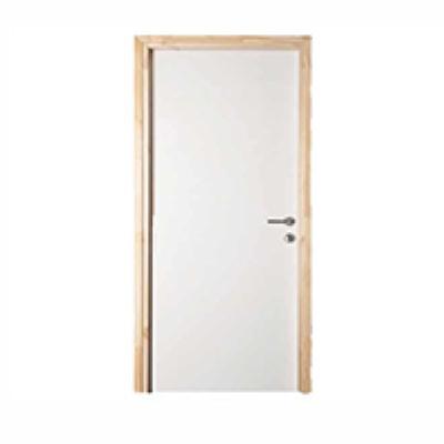 דלת + משקוף עץ לקיר 10 רוחב  60/70/80/90 גוון לבן