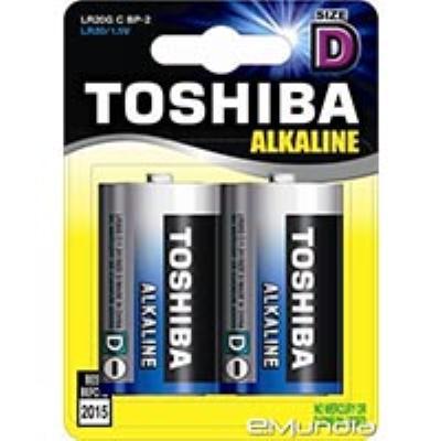סוללה  D זוג  TOSHIBA 1.5V