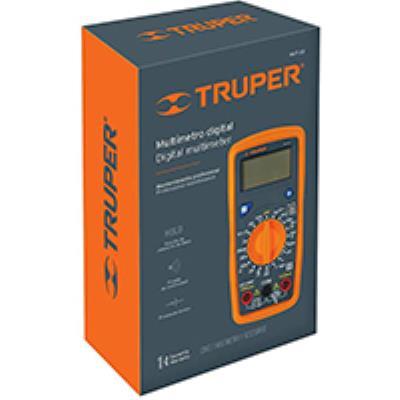 רב מודד כולל מד טמפרטורה דגם 33 TRUPER