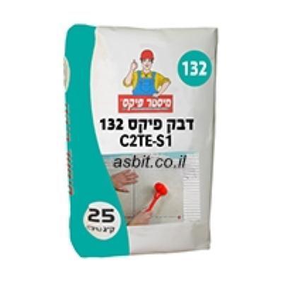 """דבק 132 C2TE S1 לבן במשטח 80 שקים של 25 ק""""ג מ.פיקס כולל הובלה"""
