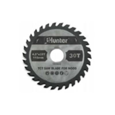 """דיסק וידיה 115 מ""""מ 30 שיניים לחיתוך עץ HUNTER"""
