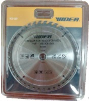 """דיסק משור עץ """" 1/4- 7 WIDER קדח 16 מ""""מ 40 שיניים"""