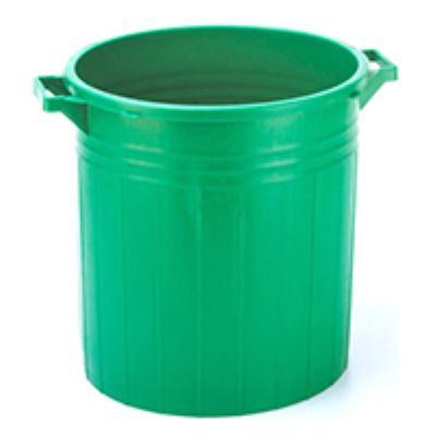 פח אשפה 50 ליטר צבעוני ללא מכסה