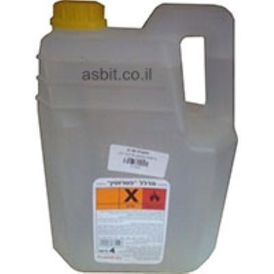 טרפנטין סינתטי 4 ליטר גלון פלסטיק שמר
