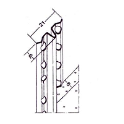 """סרגל מייק 6 מ""""מ אורך 3 מטר 50 יחידות א.גול"""