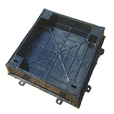 מכסה יצקת מרובע למשתלבות 50/50  B125