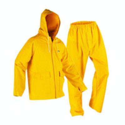 חליפת גשם XL חוץ צהוב