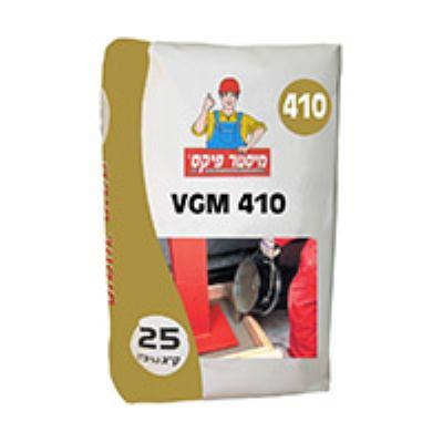 """צמנט בלתי מתכווץ 25 ק""""ג VGM410 מ.פיקס"""