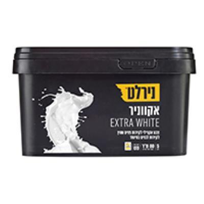 אקווניר 5 ליטר EXTRA WHITE לבן נירלט