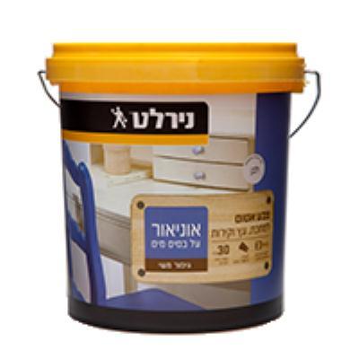 אוניאור ב.מים 4.5 ליטר משי לבן נירלט