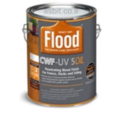 פלאד שמן UV-5-OIL בסיס שקוף  גלון סאן דק