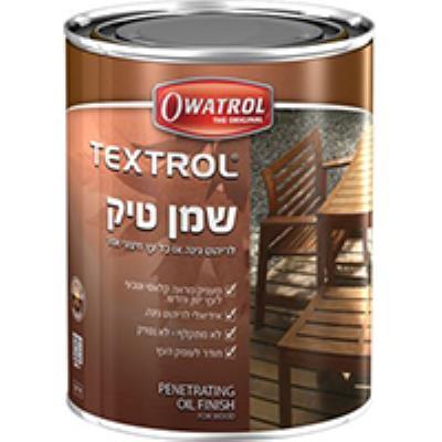 שמן טיק 1 ליטר גוון אלון כפרי Owatrol TEXTROL סאן דק