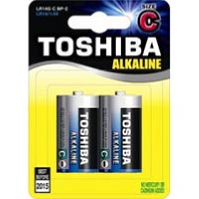 סוללה  C זוג  TOSHIBA 1.5V