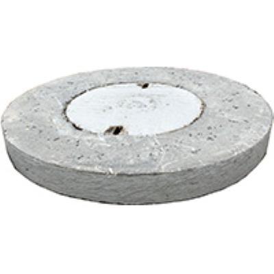 מכסה בטון קוטר חיצוני 75 פקק קוטר 40 עומס  A50  מותאם לשוחת PVC