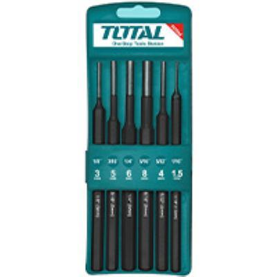 """סט 6 מקבים - 1.5,3,4,5,6,8 מ""""מ TOTAL THT42K0601"""
