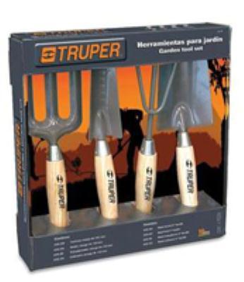 סט כלי גינה קצר 4 חלקים  TRUPER