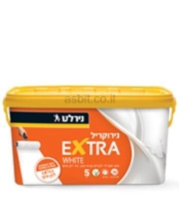 נירוקריל   5 ליטר  לבן נירלט